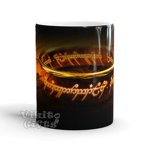 Color Changing Mug Of The Rings High quality sublimation printing