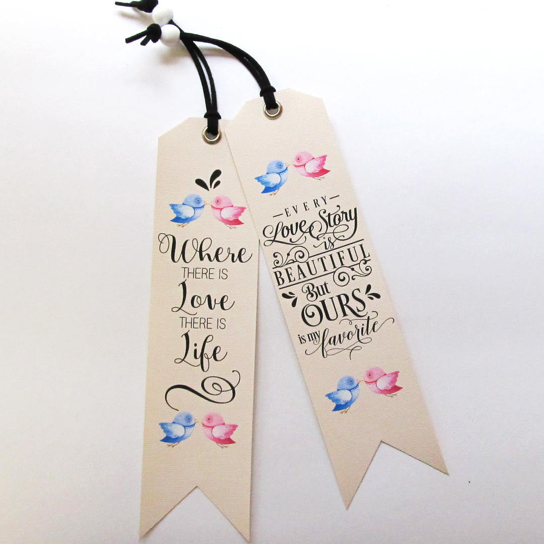 Unique Love Quotes Unique Bookmarks With Love Quotes  Vikitogifts