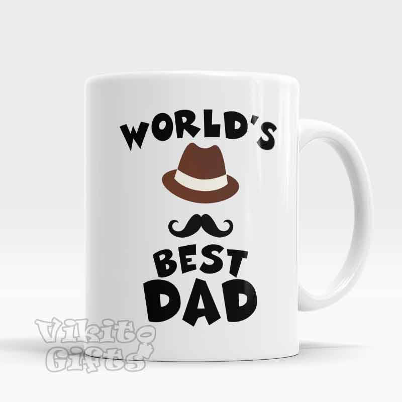 worlds best dad mug gifts for dad vikitogifts