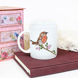 Watercolour Bird coffee mug