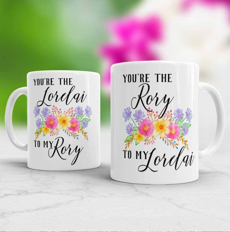 Mommy and me Mug Set Gilmore Girls Set of 2 Mugs