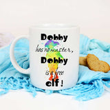 Dobby has no master, Dobby is Free elf mug Watercolor novelty cup