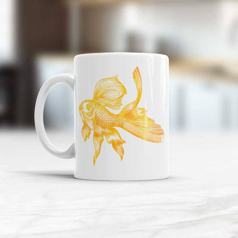 Goldfish Mug gift for fisherman
