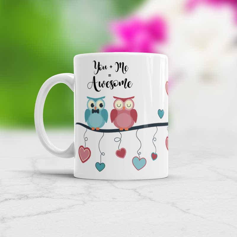 You And Me Cute Mug Valentines day gift idea