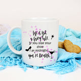 Cinderella Funny fairy tale quote mug Life is not a fairy tale