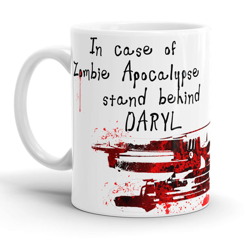 In case of zombie apocalypse, stand behind Daryl!