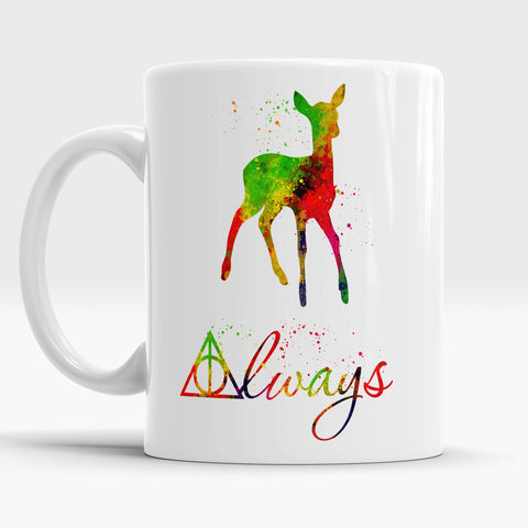 Always watercolor Mug Birthday Gift idea, Kids Gifts