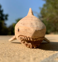 Wooden sharky