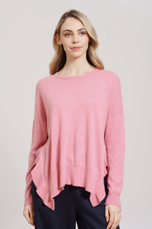 Load image into Gallery viewer, Alessandra - Boujee Sweater - Pink Lady