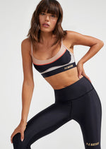 PE Nation - Sweeper Sports Bra - Multicoloured