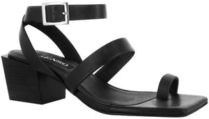 Load image into Gallery viewer, Senso - Kody Heeled Sandals - Ebony Calf - Lucente Collective