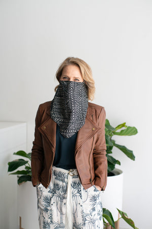 Once Was - Snood Facecovering - Black