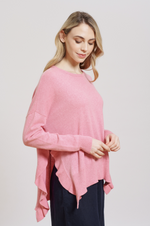 Alessandra - Boujee Sweater - Pink Lady