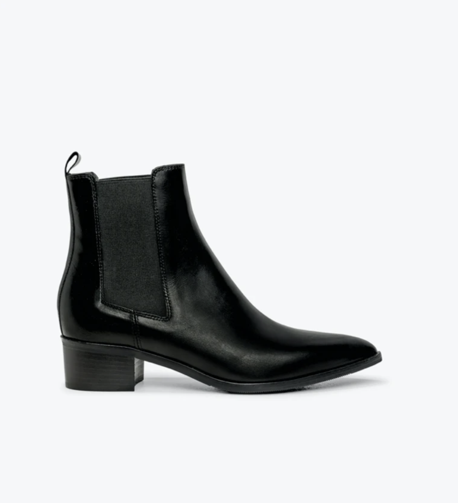 DOF - Carina Boot - Black Leather