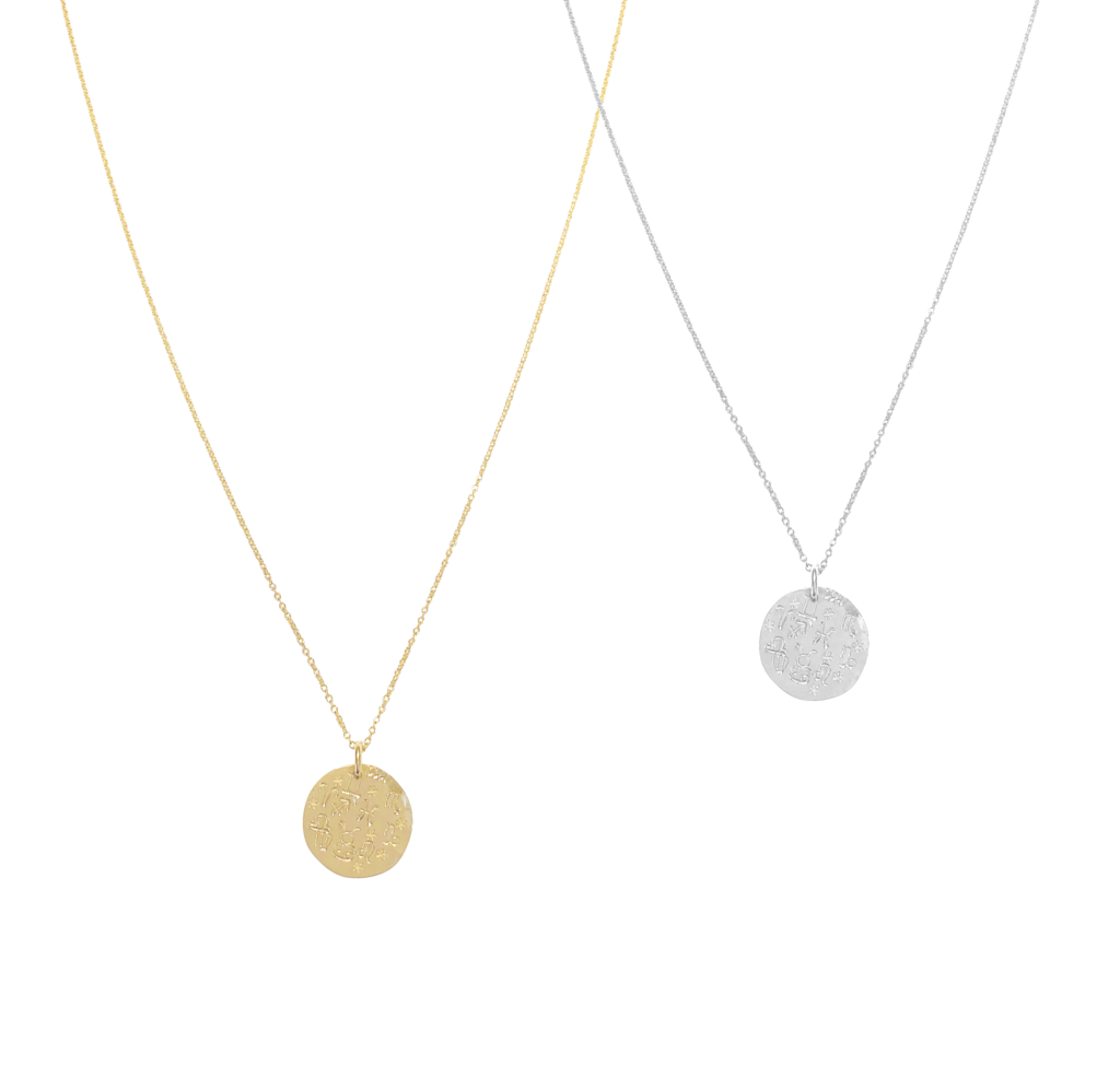 Alex Zodiac Disc Necklace