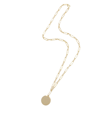 Anabelle Disc Necklace