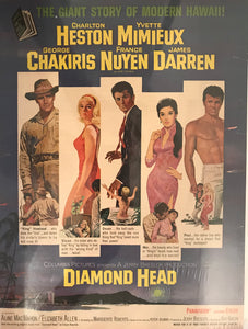 "Vintage Movie Ad For ""Diamond Head"""