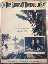 Hawaiian Sheet Music: 'On The Banks Of Honolulu Bay'