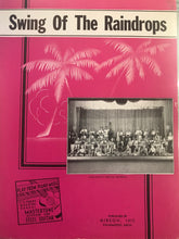Hawaiian Sheet Music: 'Swing Of The Raindrops'