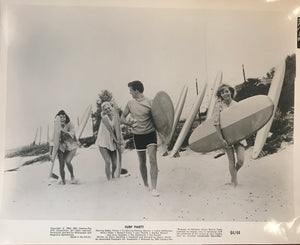 "1964 Vintage Lobby Still Photo From ""Surf Party"""