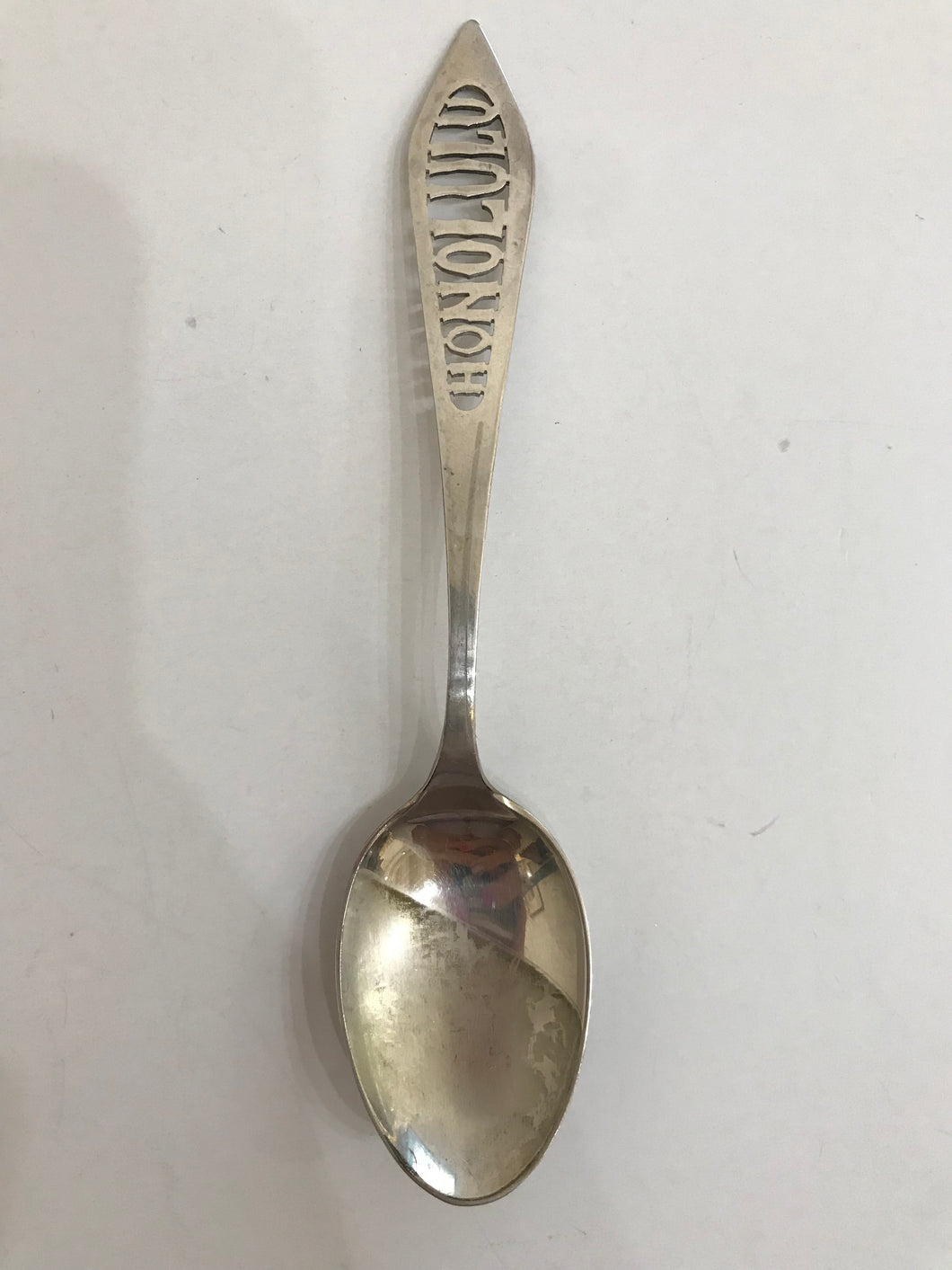 Collectible Vintage Honolulu Hawaii Sterling Silver Spoon