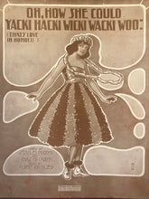 Hawaiian Sheet Music: 'Oh, How She Could Yacki Hacki Wicki Wacki Woo'