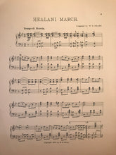 Hawaiian Sheet Music: 'Healani March'