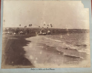 Earliest Known Photograph By Henry L. Chase of Hilo Bay