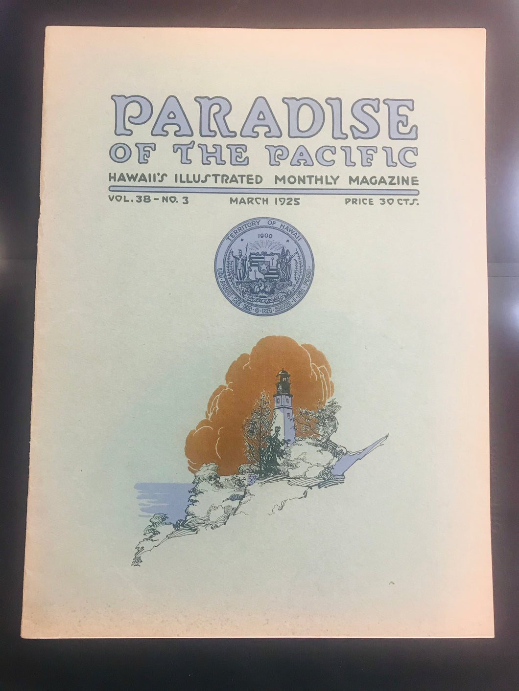 Paradise Of The Pacific, Hawaii's Illustrated Monthly Magazine March 1925