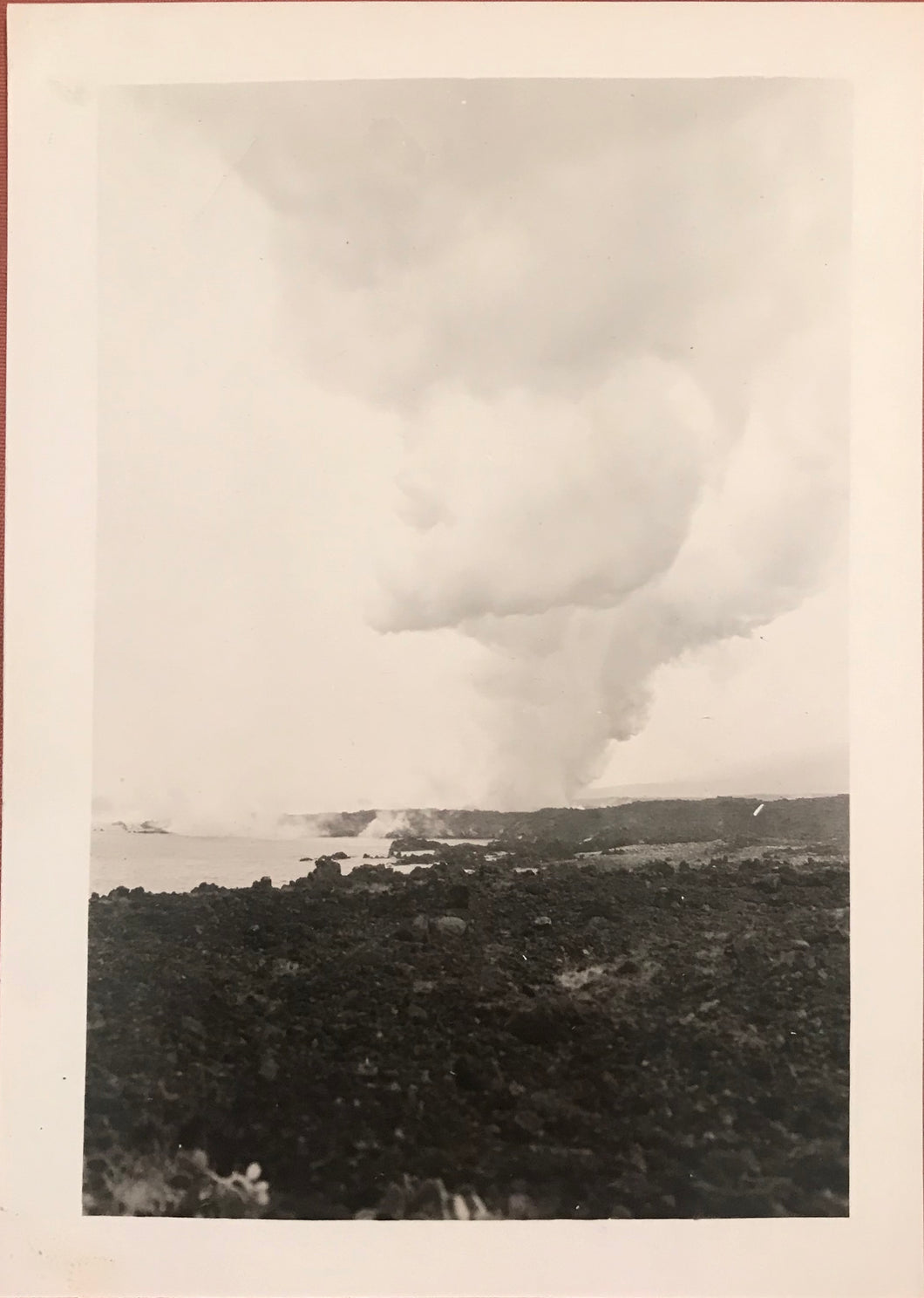 1923 Vintage Photograph of Kilauea Hawaii