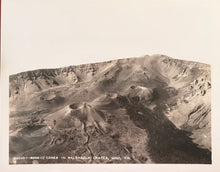Vintage Photograph of The Cones In Haleakala Crater, Maui Hawaii
