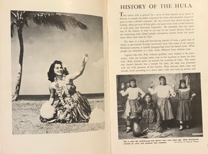 "1955 Vintage Book ""Learn To Dance The Hula"""
