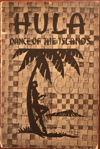 "1935 Vintage Book ""Hula Dance Of The Islands"""