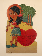 Rare 1930's Vintage Valentine Card, Holiday