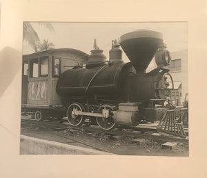 1930's Original Weston Photograph Of Hawaiian Railroads