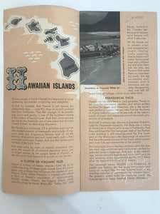 Vintage Matson Line Travel Brochure And Guide To Hawaii