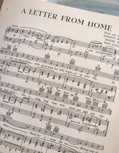 Hawaiian Sheet Music: 'A Letter From Home'