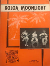 Hawaiian Sheet Music: 'Koloa Moonlight'