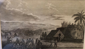18th Century Original Engraving 'KAUAI'