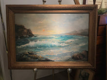 "Beautiful Original Oil Painting On Canvas Of Haleiwa, Hawaii ""Pacific Sunset"""