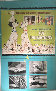 "Original ""101 Dalmations"" Movie Poster, From Toyo Theatre"