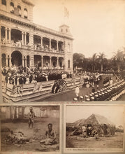1890's Vintage Albumen Photos Of The Annexation Of Honolulu And Others