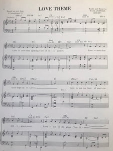 Hawaiian Sheet Music: 'Love Theme'