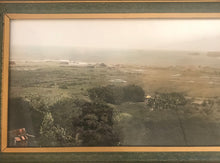 Rare 1915 Vintage Hand Colored Photograph By R.W. Oakes Of Hana, Maui