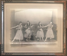 1920's Vintage Hula Girls Photograph From Hawaii