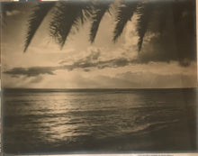 1920 Vintage Soft Focus Photograph By Perkins Of Beachscene Oahu Hawaii