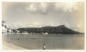 Photograph Of Diamond Head And Waikiki, Honolulu Hawaii