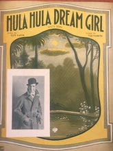 Hawaiian Sheet Music: 'Hula Hula Dream Girl'