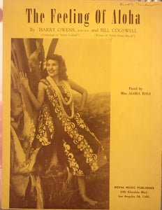 Hawaiian Sheet Music: 'The Feeling Of Aloha'