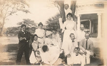 1900's Vintage Silver Photographs Of Family In Hawaii